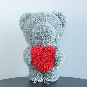 Bearose Bear Series (Standing Bear with Heart)