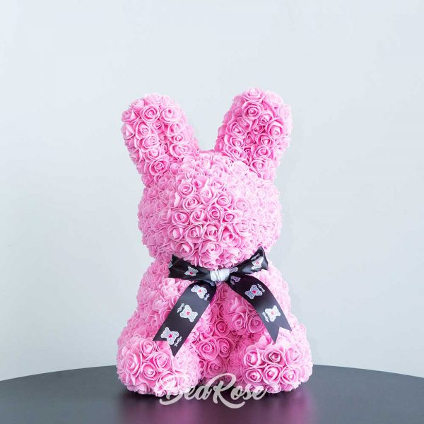 bearose-bunny-rose-singapore-dark-pink-with-ribbon-1
