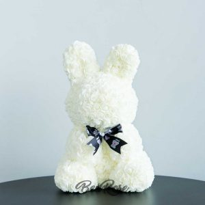 Bearose Bunny Series  (Sitting Bunny Classic) – Ivory