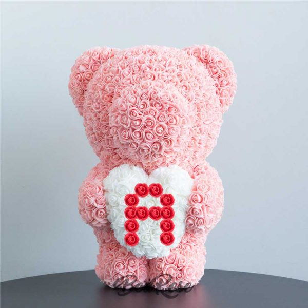 bearose-bear-rose-champagne-standing-bear-with-white-heart-red-letter-A-singapore-1