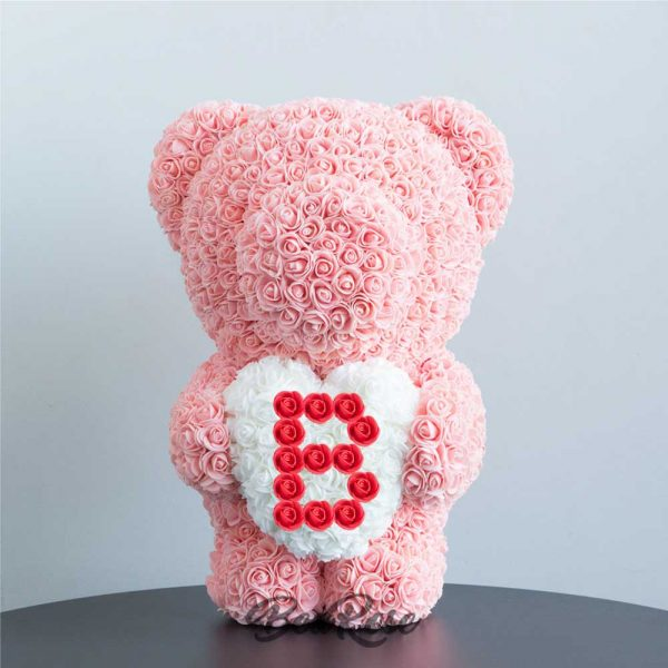 bearose-bear-rose-champagne-standing-bear-with-white-heart-red-letter-B-singapore-1