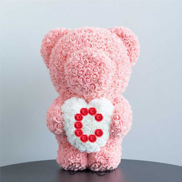 bearose-bear-rose-champagne-standing-bear-with-white-heart-red-letter-C-singapore-1