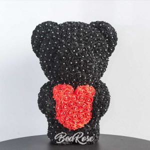 Bearose Bear Series  (Luxe Standing Bear with Heart)