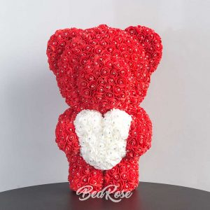 Bearose Bear Series  (Luxe Standing Bear with Heart)