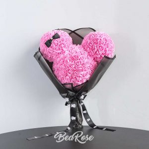 Bearose Limited Edition Series (Mickey Mouse in Bouquet)